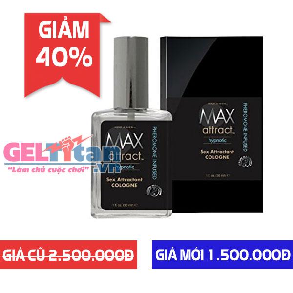 [Giảm 40%] Khi mua nước hoa gợi cảm Max 4 Men