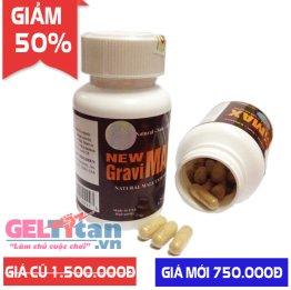 Viên uống hỗ trợ tăng kích thước và chống xuất tinh sớm New Gravimax