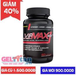 [Giảm 40%] Khi mua viên uống hỗ trợ tăng kích thước và chống xuất tinh sớm Vipmax-rx