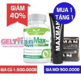 [Khuyến mãi] Mua 1 lọ Winmax Plus giảm 40% tặng kèm 1 Gel Maxman USA