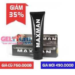 Gel Maxman USA hỗ trợ tăng kích thước dương vật