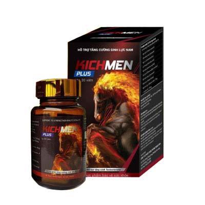 Sản phẩm Kichmen Plus tăng cường sinh lực nam giới
