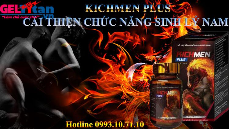 Thực phẩm chức năng Kichmen plus chính hãng