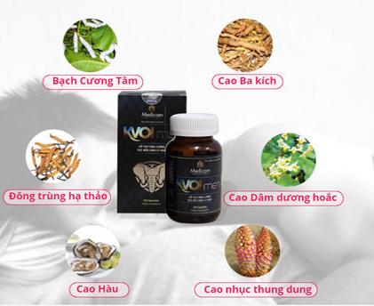 Thành phần kvoimen là gì, công dụng và cách dùng thuốc Kvoimen ra sao