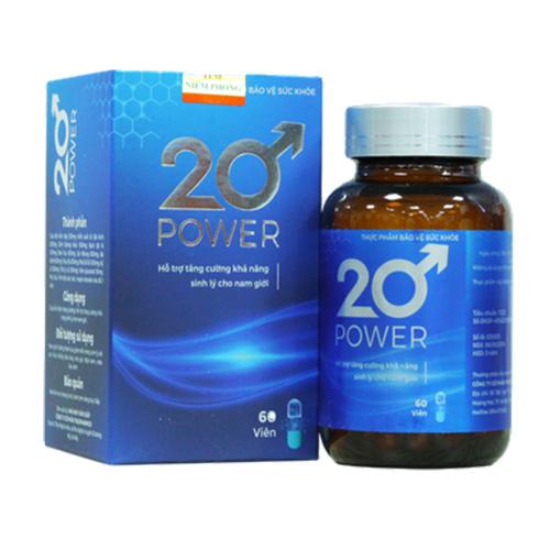 20 Power - Viên Uống Tăng Cường Sinh Lý Phái Mạnh