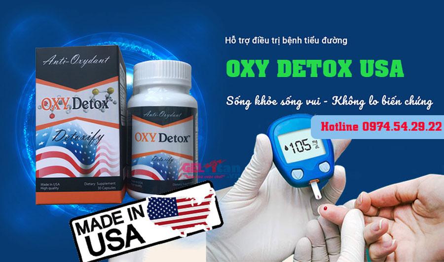 Oxy Detox có tốt không, đánh giá từ người dùng, mua ở đâu chính hãng?