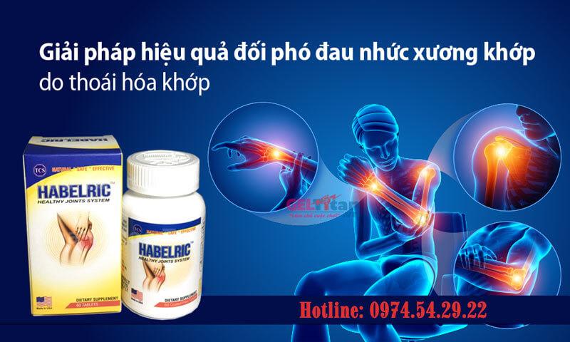 Thuốc Habelric sản phẩm xương khớp số 1 tại USA