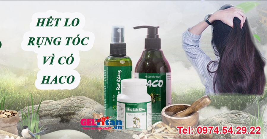 Bộ 3 tóc Haco là gì, có tốt không, đánh giá từ chuyên gia, người dùng