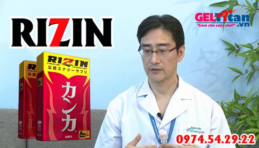 Bổ thận Rizin có tốt không - ý kiến từ chuyên gia, người dùng
