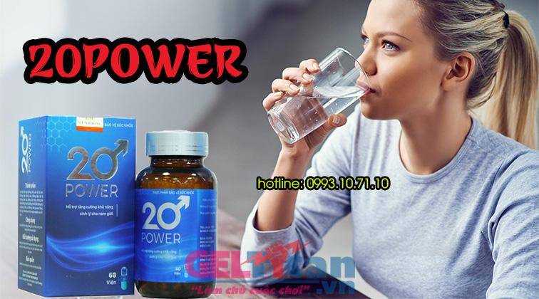 Cách dùng 20 Power