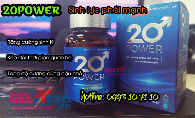 Công dụng của 20 Power