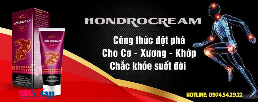 Hondrocream là gì