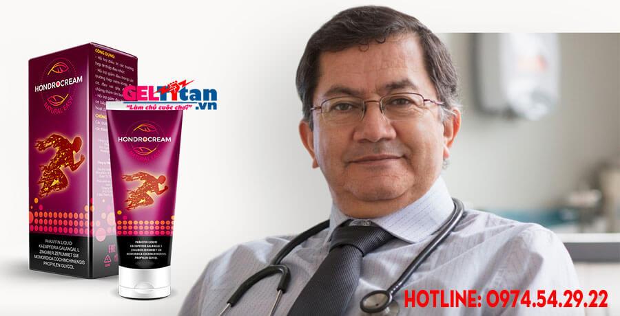 Đánh giá Hondrocream từ chuyên gia