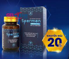 Spermen giảm 20%