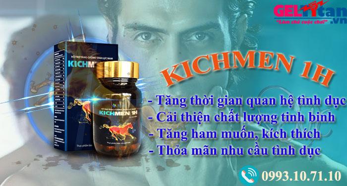 công dụng kichmen 1h là gì