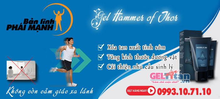 Hammer of Thor Gel hỗ trợ điều trị xuất tinh sớm cho nam