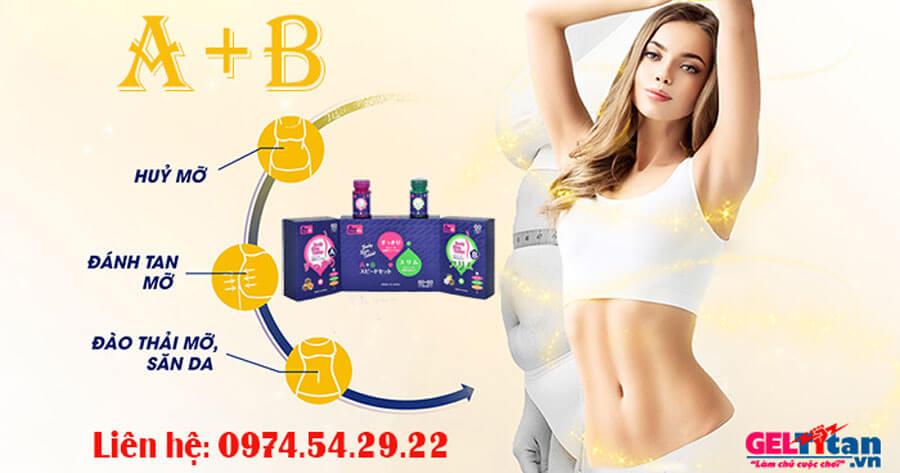 công dụng giảm cân AB
