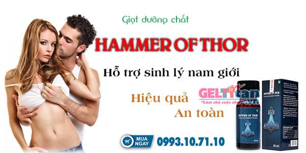 Thuốc hammer of thor có tốt không