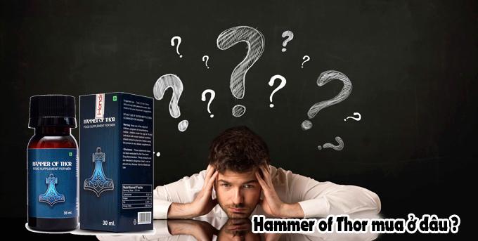 Thuốc Hammer of Thor mua ở đâu