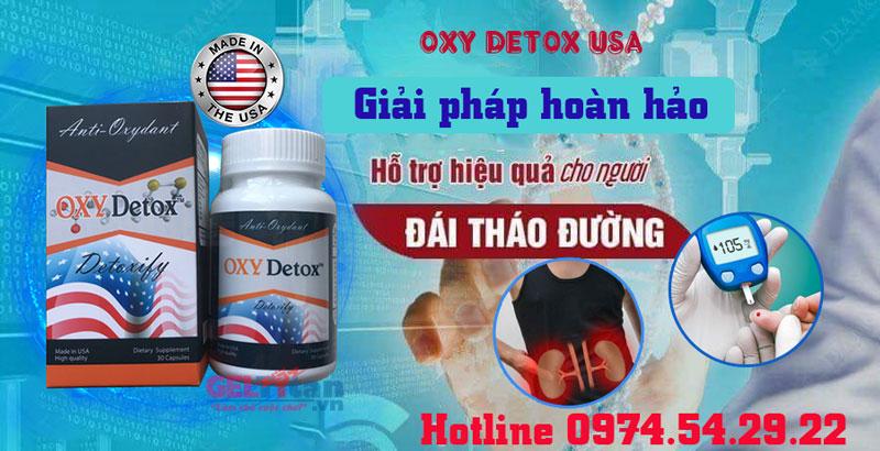 công dụng oxy detox