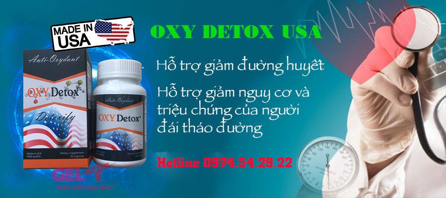 tác dụng oxy detox