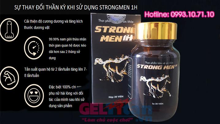 Công dụng của Strongmen 1h