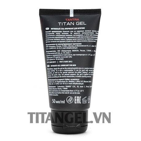 sản phẩm titan gel có tác dụng phụ không