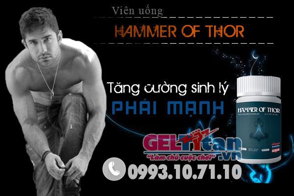 Viên uống Hammer of Thor loại bỏ xuất tinh sớm cho nam giới