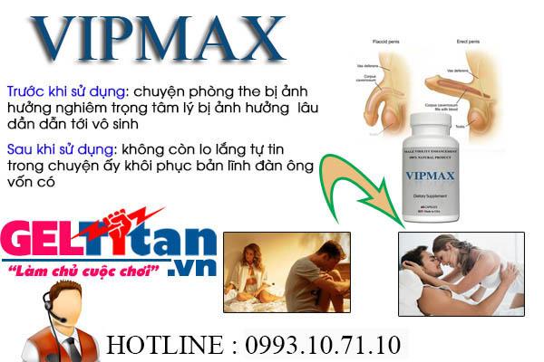 CƠ CHẾ HOẠT ĐỘNG CỦA SẢN PHẨM VIPMAX